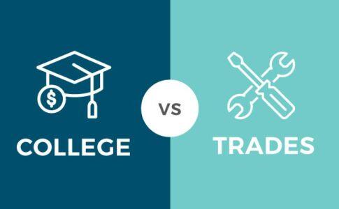 College vs Trades